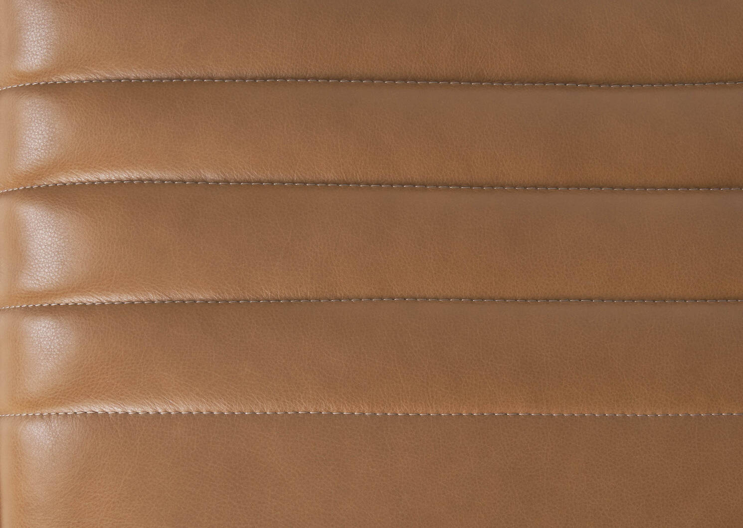 Skylar Leather Ottoman -Adler Tan