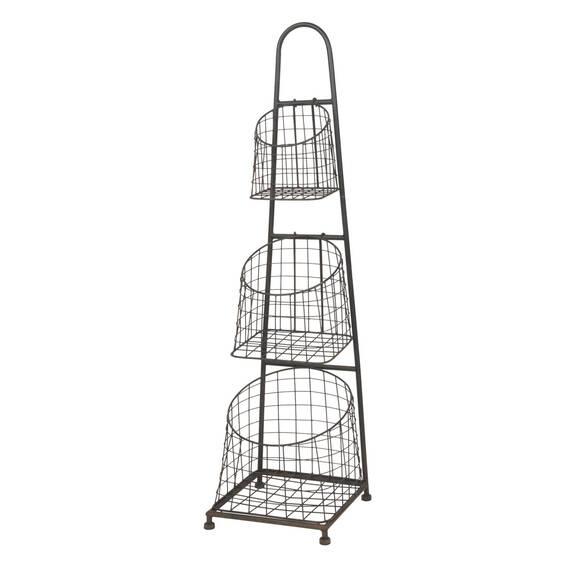 Elias 3 Tier Basket Stand