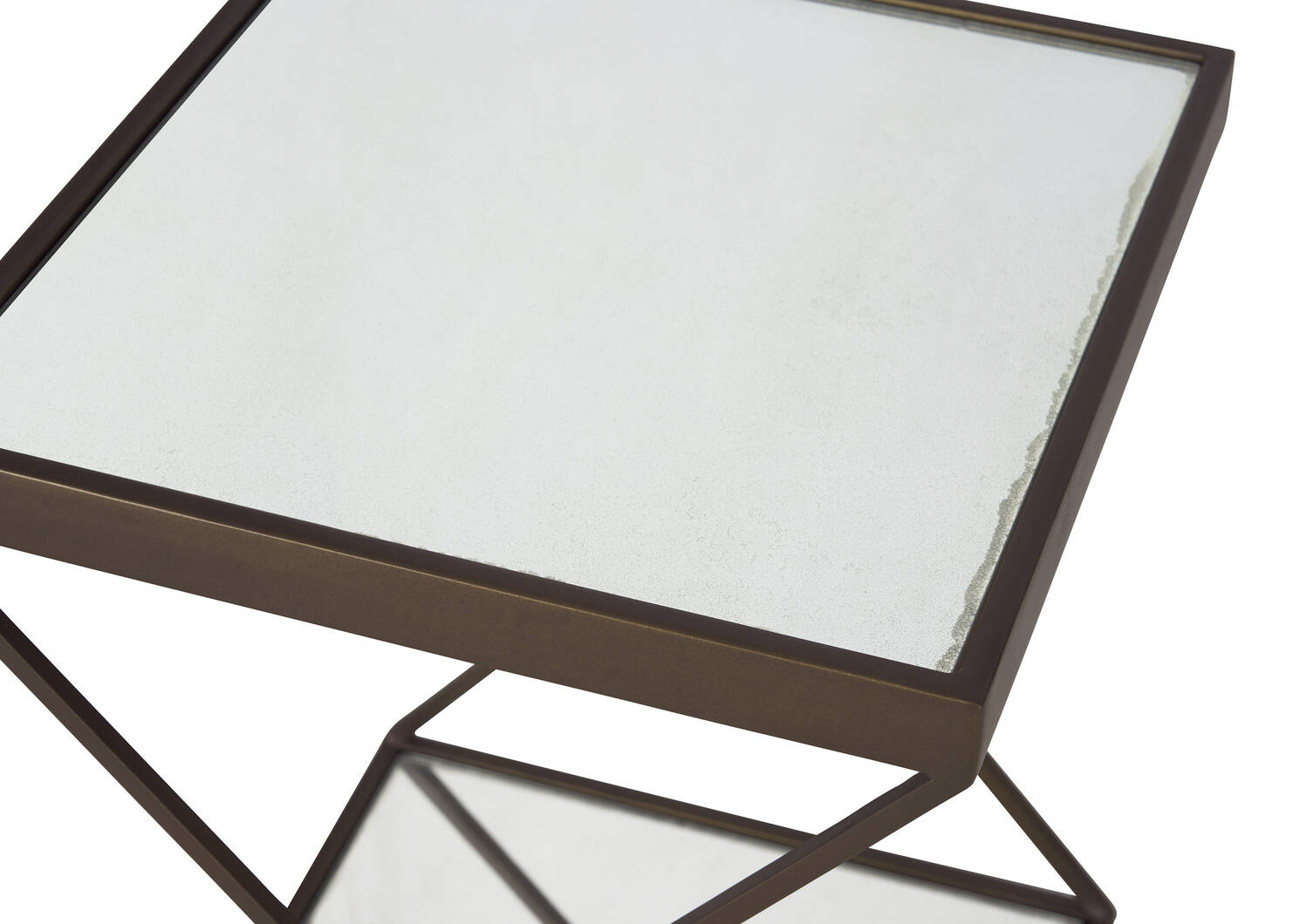 Gaines Accent Table -Brass
