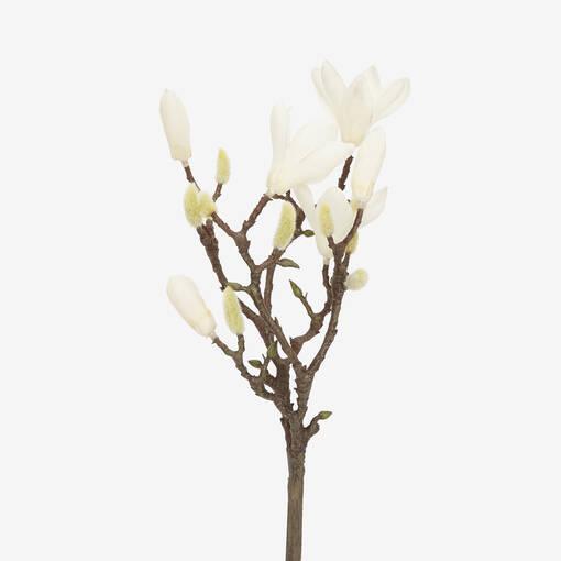 Norah Flower Branch White