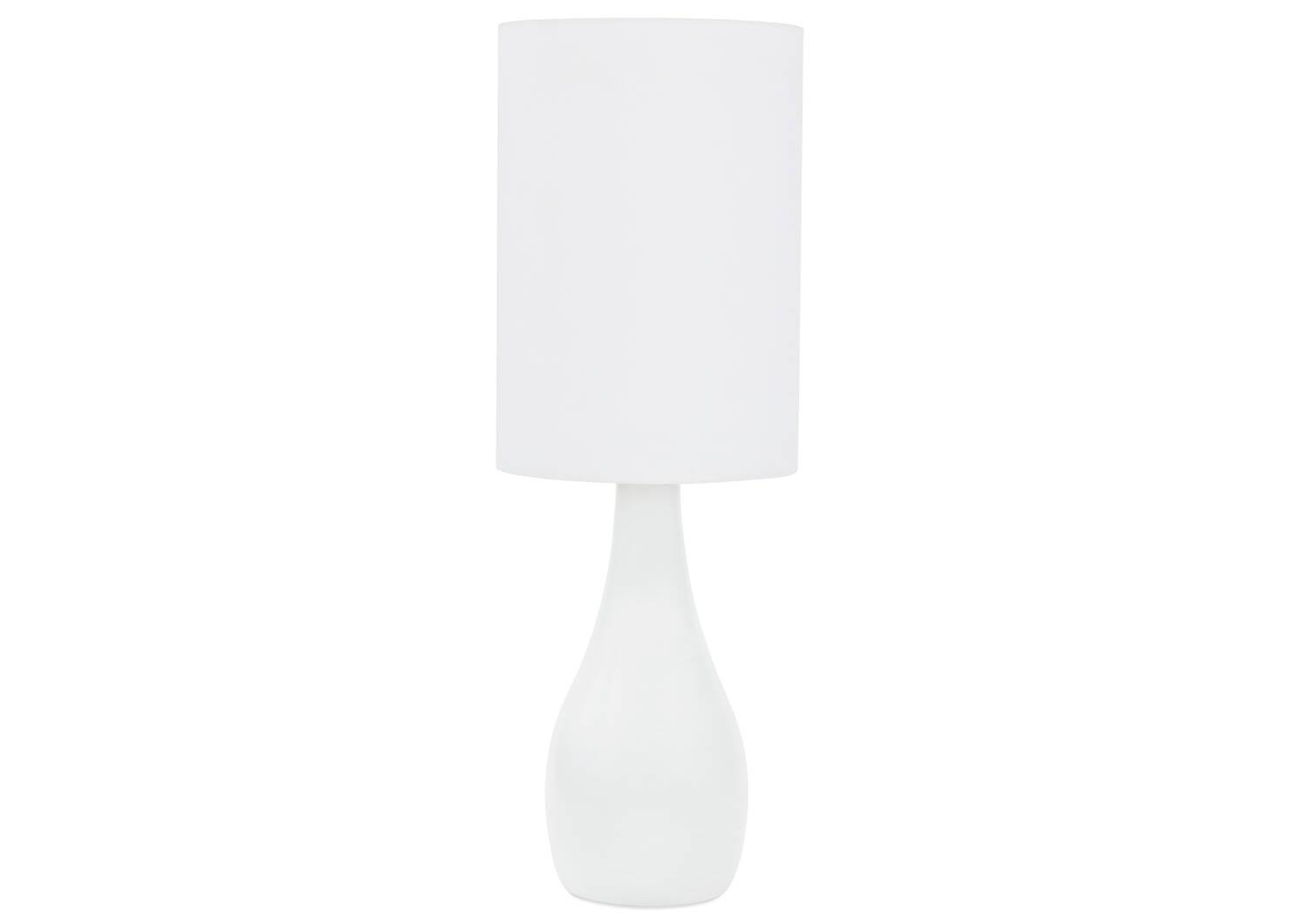 Naomie Table Lamp White