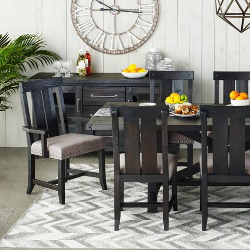 Ironside Arm Chair -Café Grey