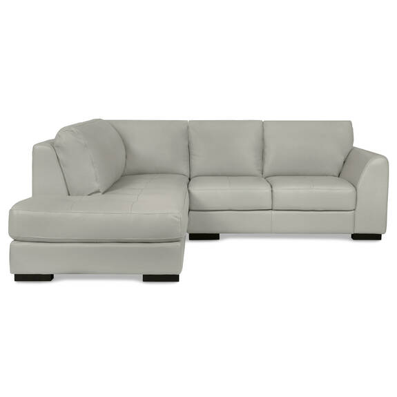 Boone Leather Condo Sofa Chaise -Do
