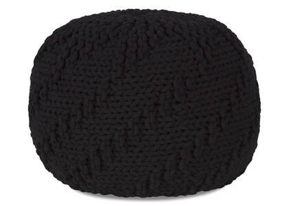 Pouf Roper noir