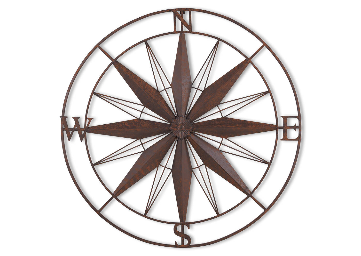 Span Compass Outdoor Wall Decor