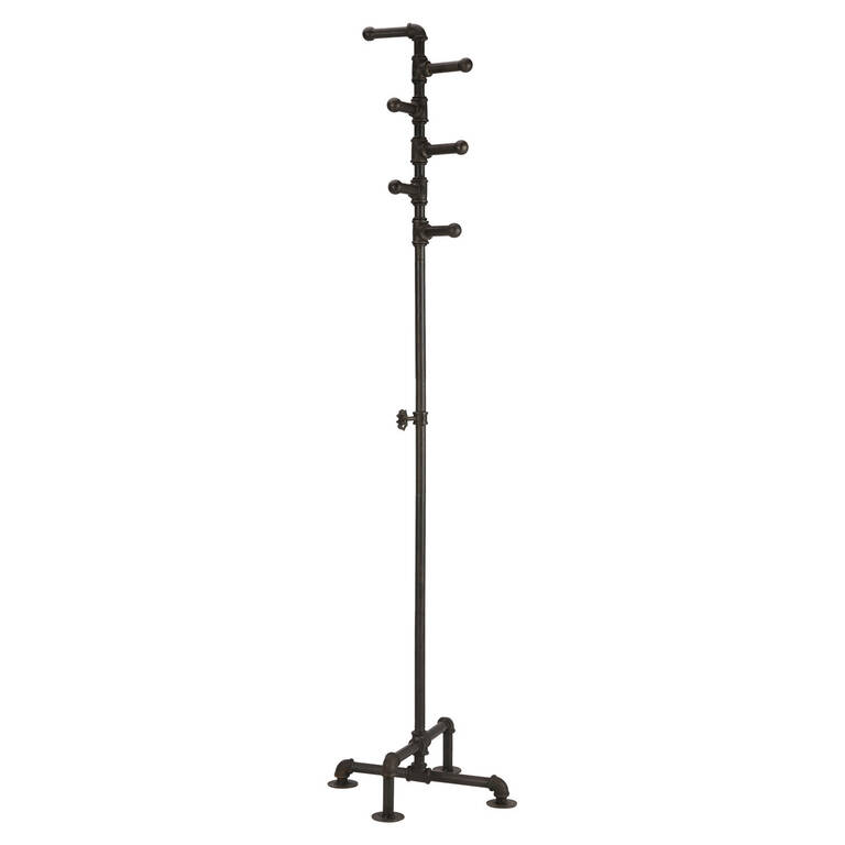 Pipeline Coat Rack Iron