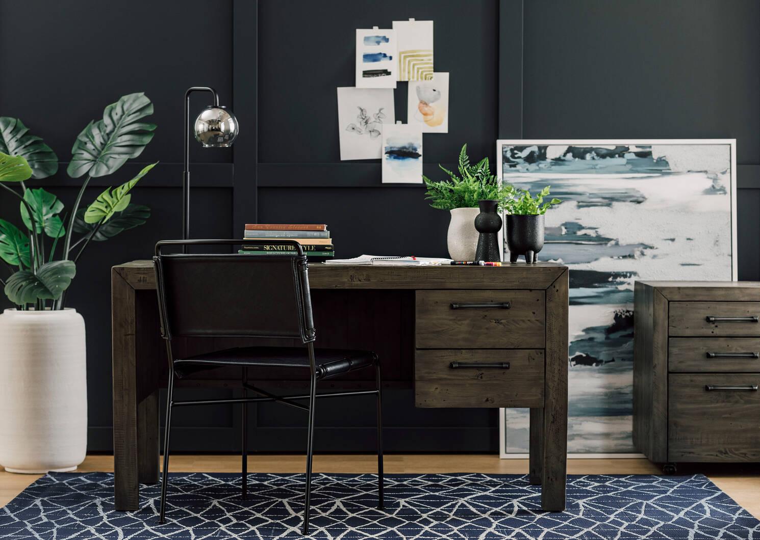 Emmory Dining Chair -Como Black