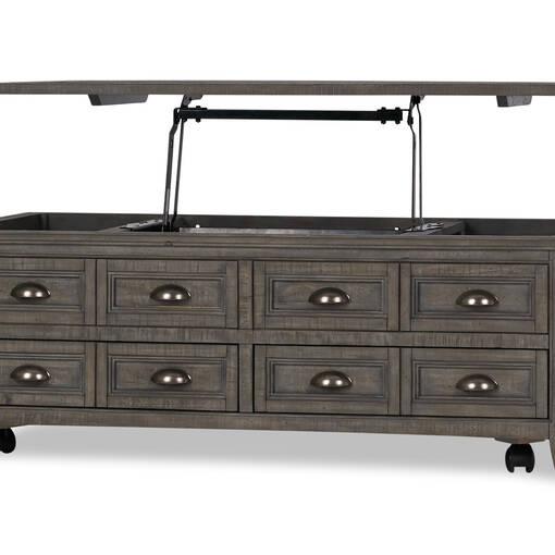Table console -Héron gris