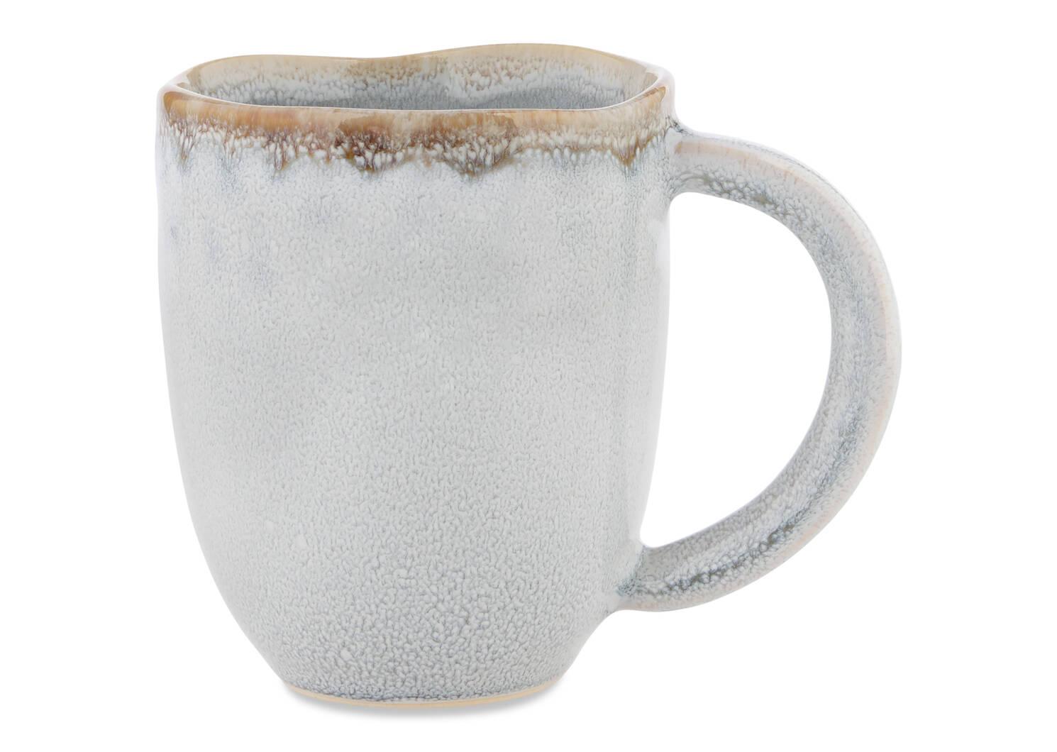 Tasse avec glacis Crofton gris pâle