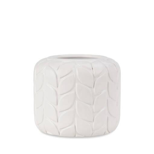 Marla Vase Small White