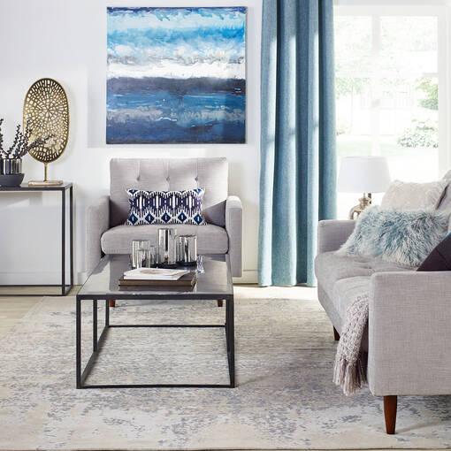 Bloor Sofa –Mylo Silver