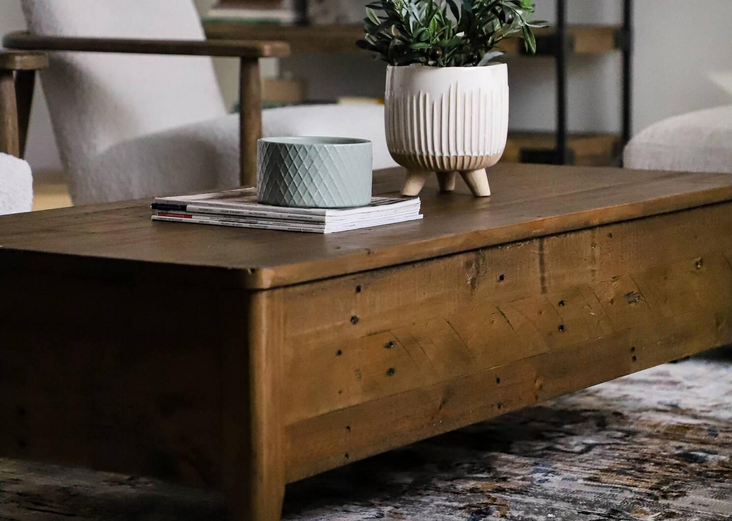 Goodwin Coffee Table -Fernie Pine