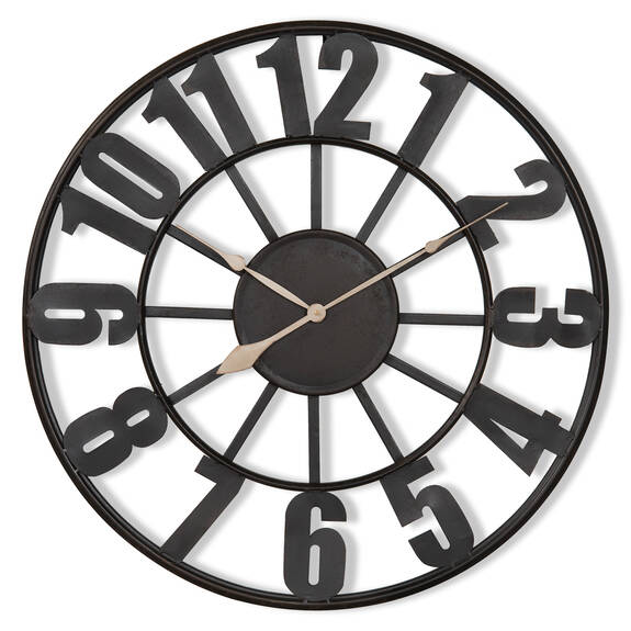 Old Station Wall Clock Medium