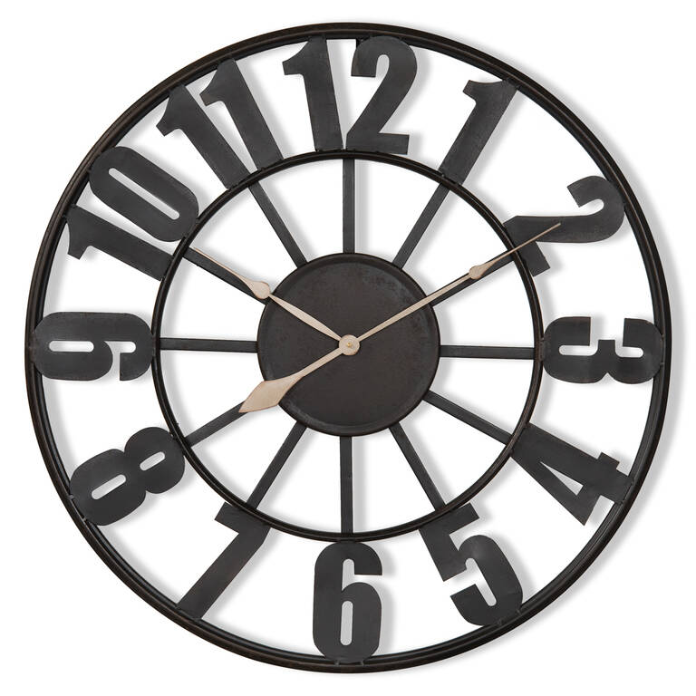 Old Station Wall Clock Medium