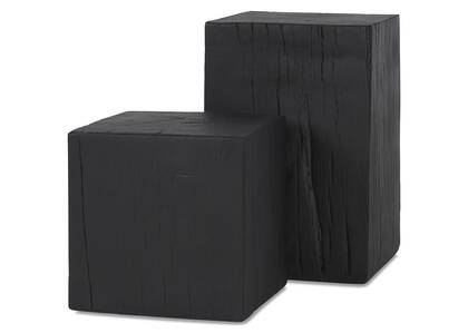 Breaden Indoor Outdoor Stool - Black