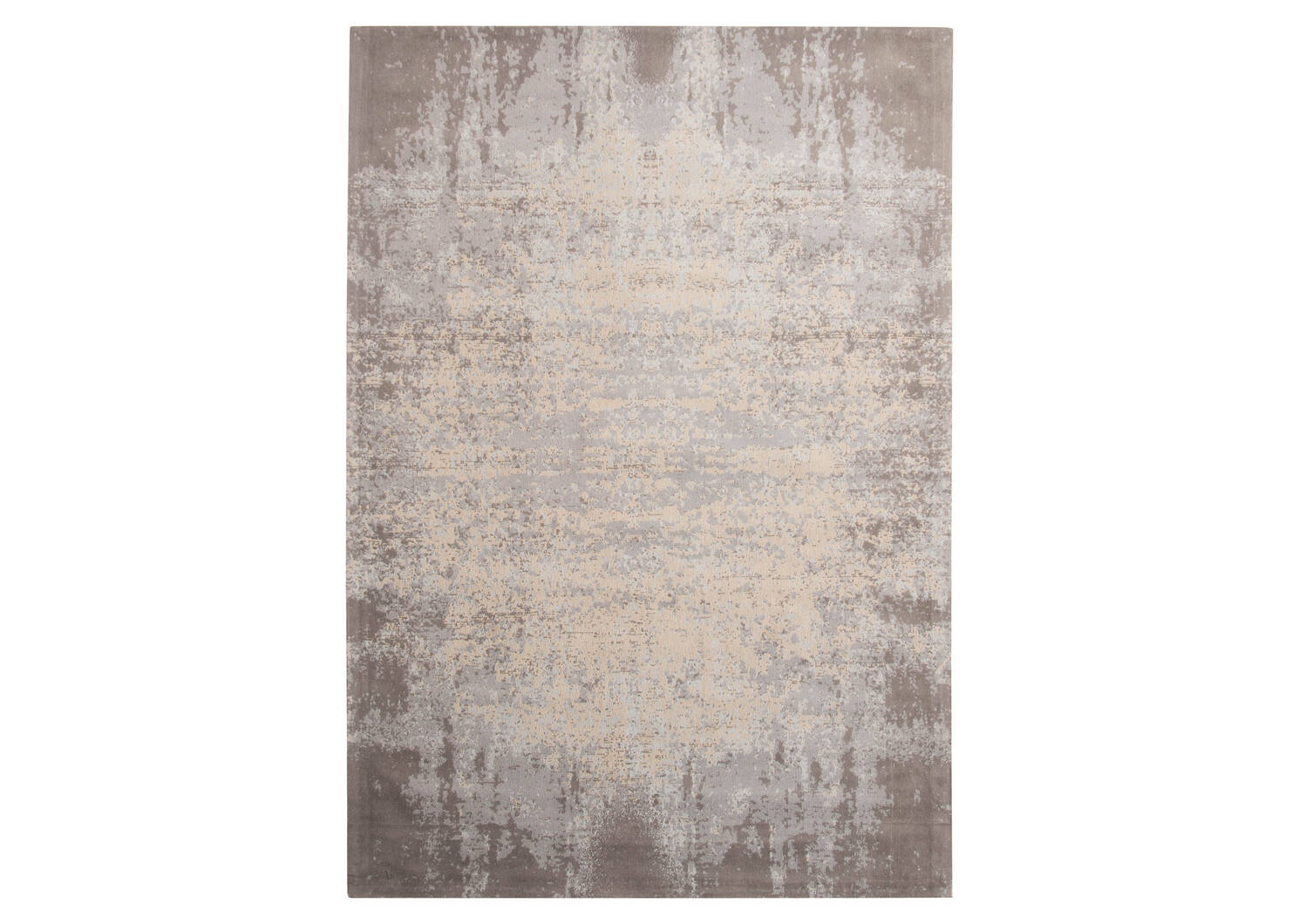 Tapis Vares 60x96 gris/argenté