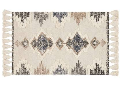 Magda Accent Rugs Ivory/Navy