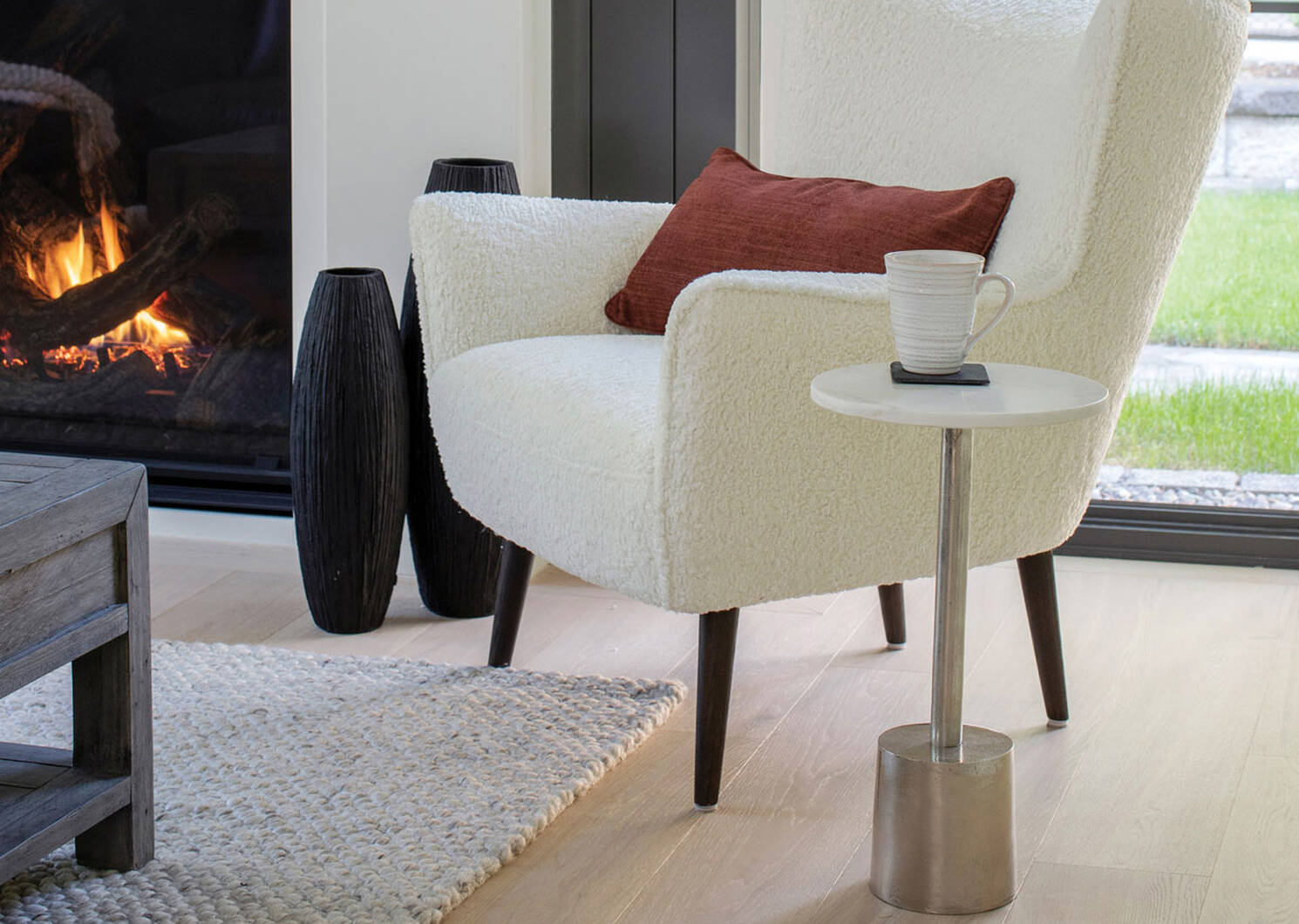Damsel Accent Table