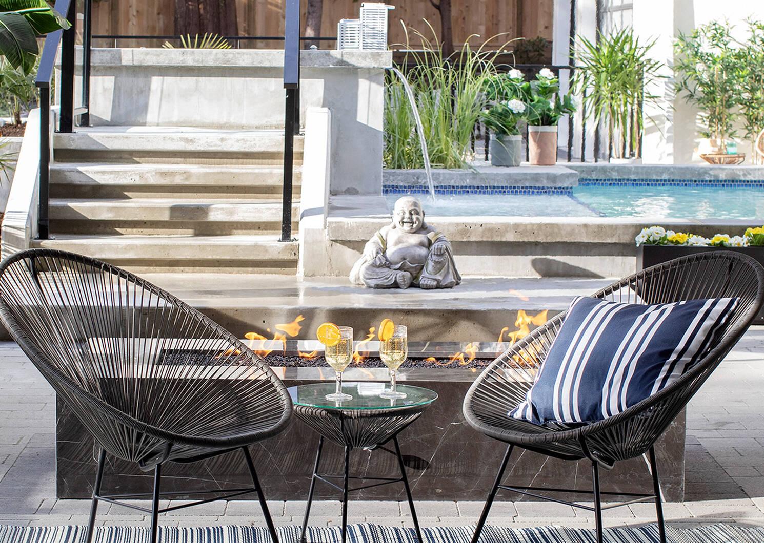 Fresno Side Table -Tao Grey