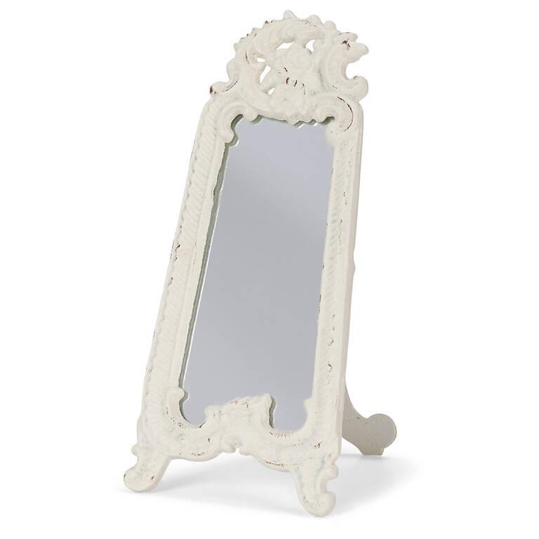 Libby Vanity Mirror White