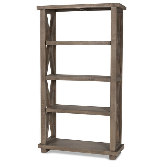 Ironside Display Shelf -Rustic Grey