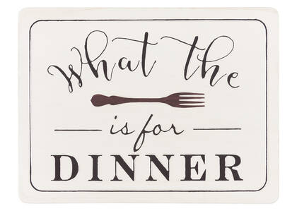 What the Fork Wall Plaque