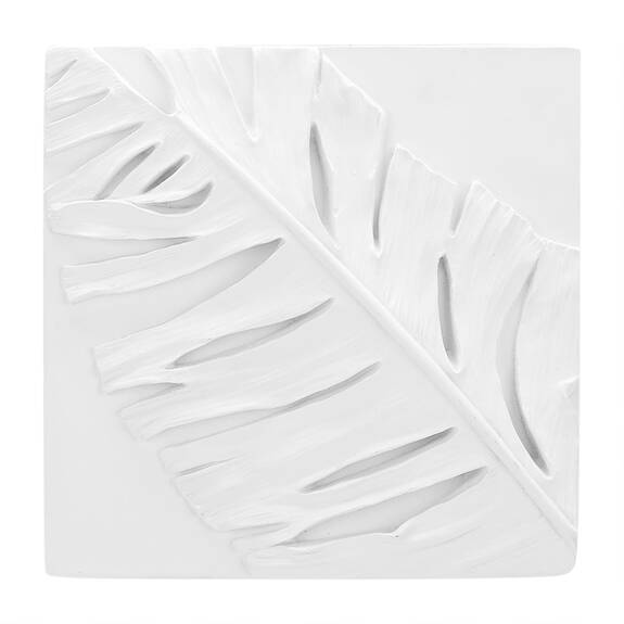 Tropica Fern Wall Tile White