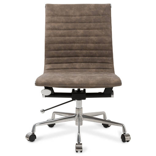 Gomez Office Chair - Aged Saddle