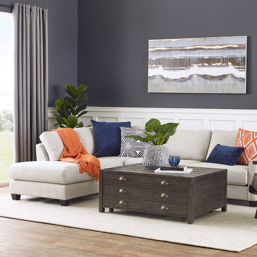Liberty Sectional Combo -Campbell Stone