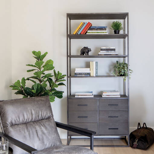Lenyx LG Bookshelf -Hanna Oak
