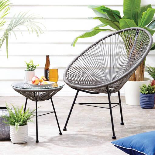 Fresno Chair -Granite