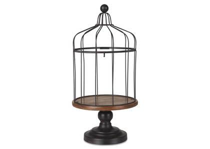 Cage d'oiseau cloche Merle