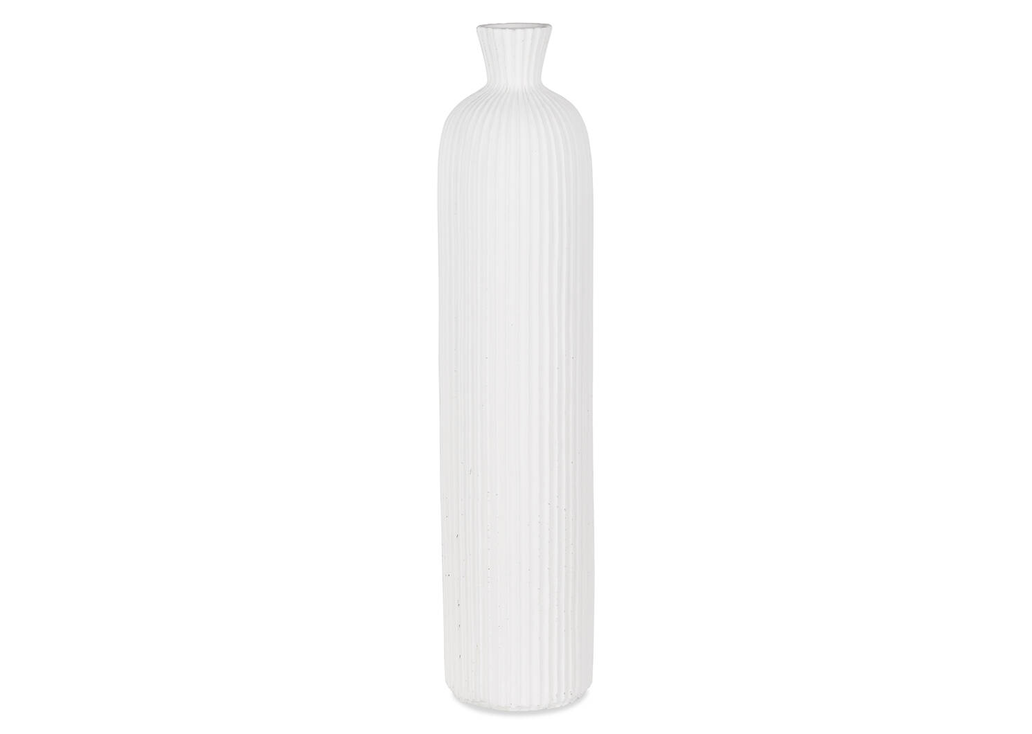 Petit vase Blaire blanc