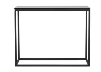 Duet Narrow Side Table -Smoke