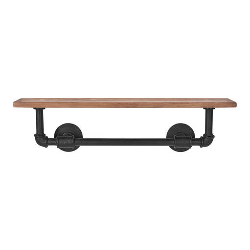 Jeb Wall Shelf Iron/Wood