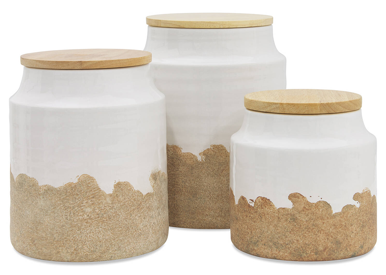 Vanna Canister Small Milk/Natural