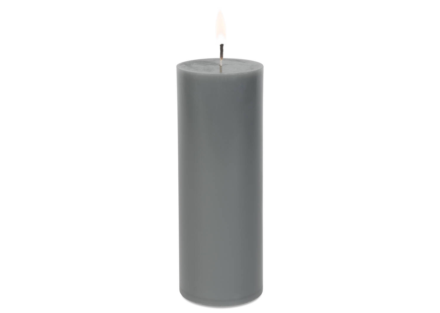 Cassa Candle 3x8 Grey Unscented
