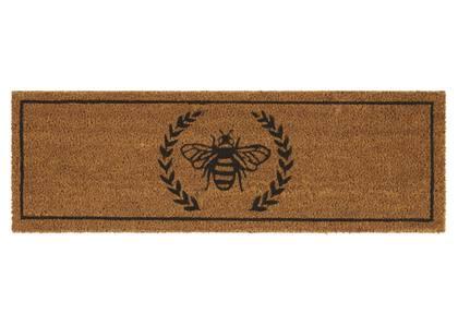 Bee Patio Doormat Natural