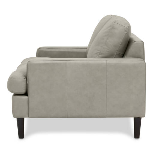 Savoy Custom Leather Loveseat