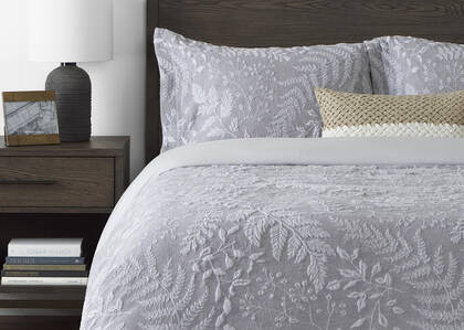 Dashwood Duvet Sets Silver/Grey