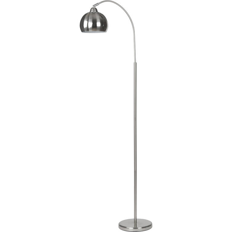 Aura Floor Lamp Polished Steel