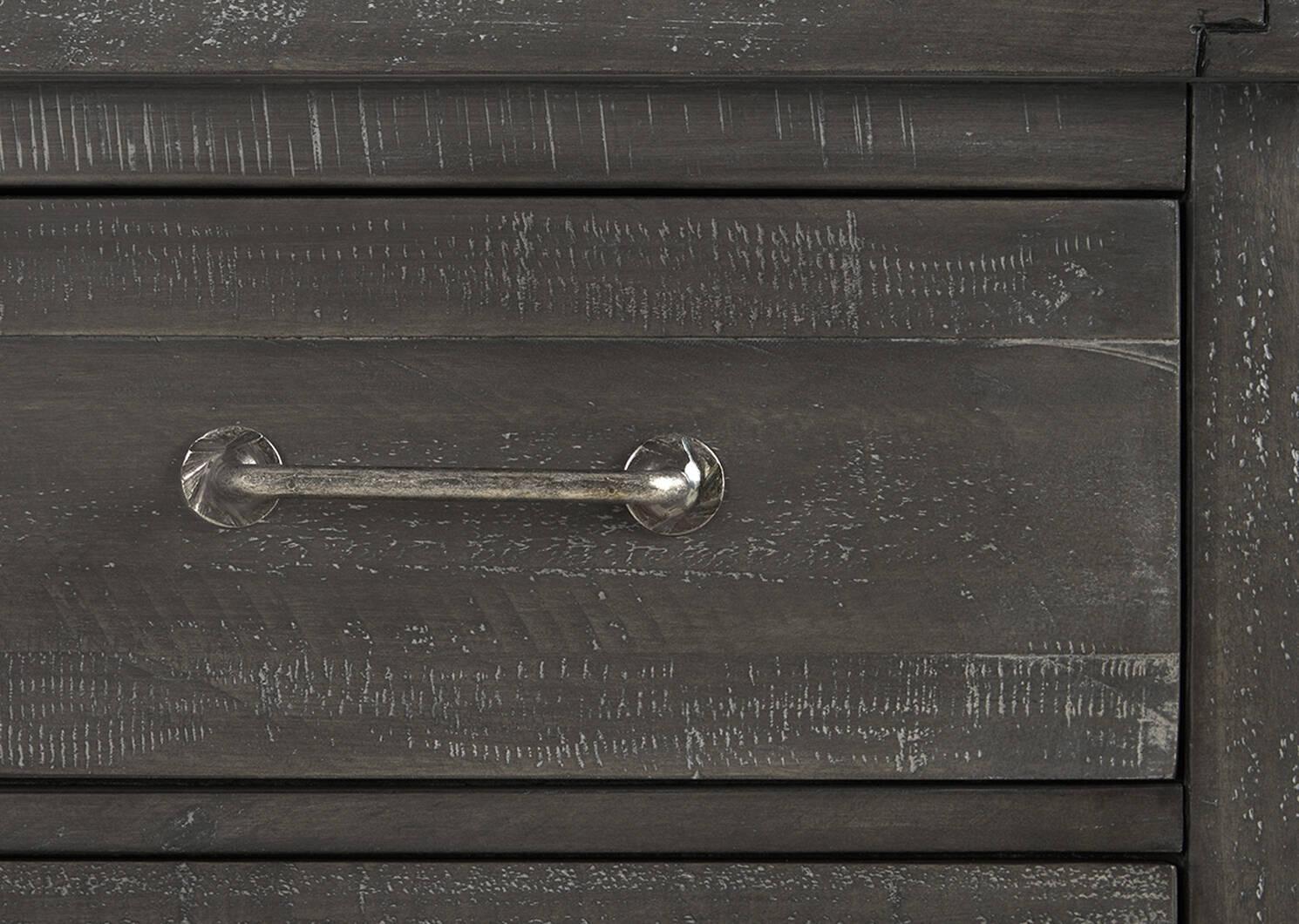 Ironside 7 Drawer Dresser -Smoke