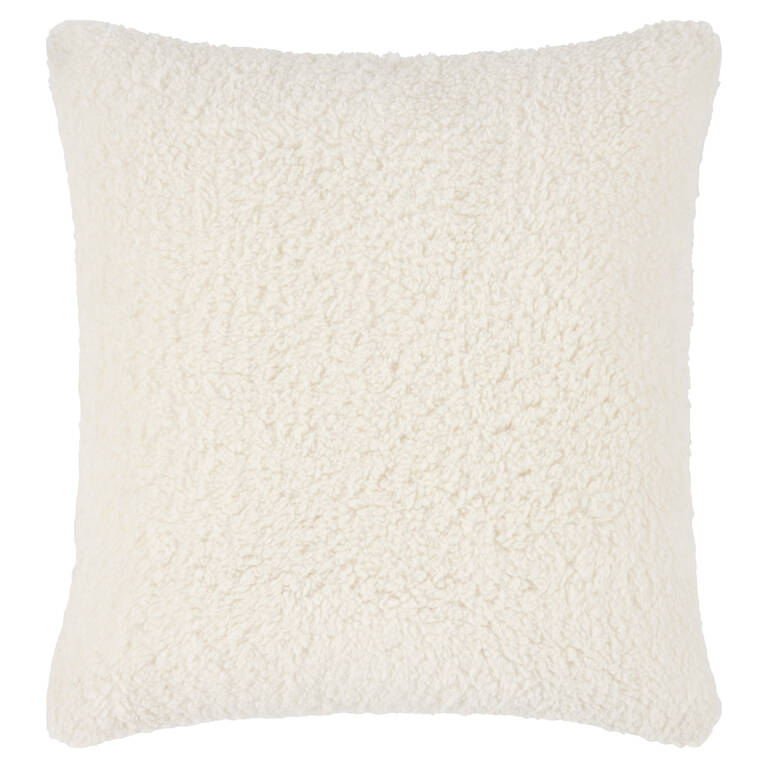 Homestead Sherpa Toss 20x20 Cream
