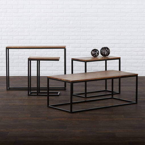 Table console étroite Crosby -sheesham