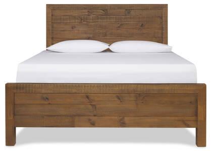 Sydney Bed -Romy Pine, QUEEN