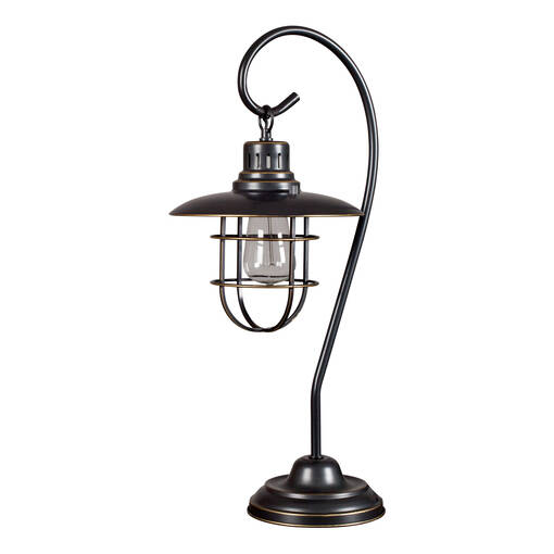 Lanterna Bronze Table Lamp