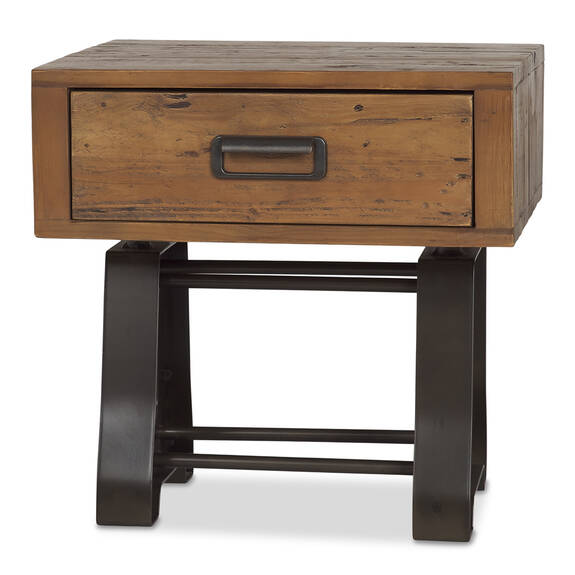 Stapleton Side Table -Whiskey Brown