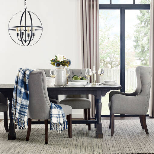 Gatewood Ext Dining Table -Cole Black