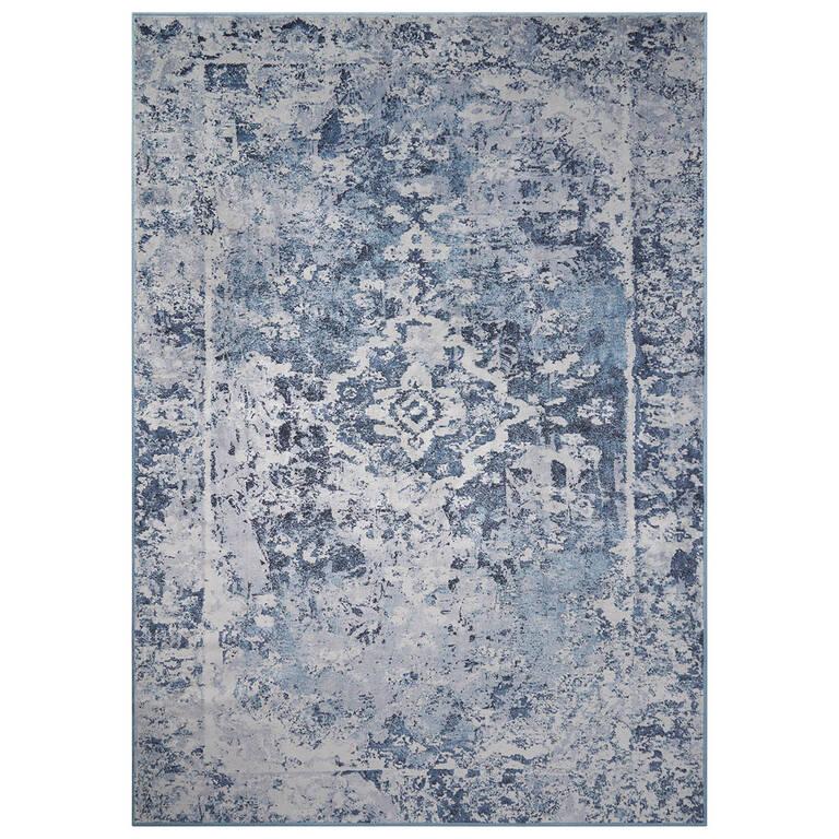 Tapis Lariviere - gris/bleus