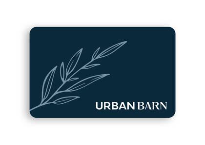 Urban Barn E-Gift Card, New Home 25